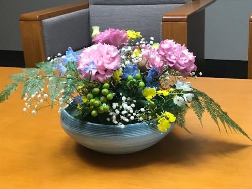 応接室の生花
