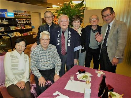 安井先生と同期の80歳の大先輩の皆さまと