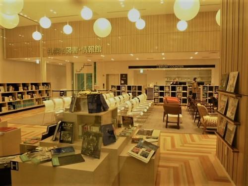 開放的図書館エリア