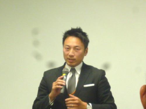 タムケン、田村健一専務