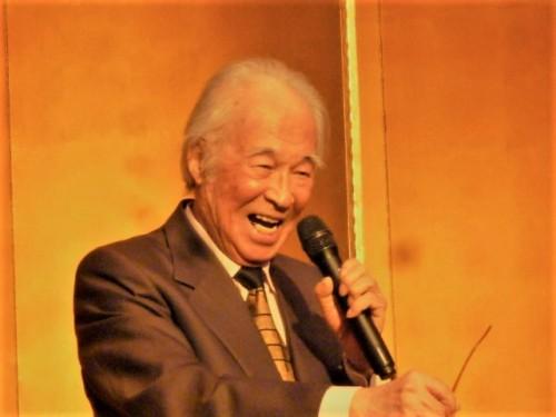 設立当初の会長・小川東州さん