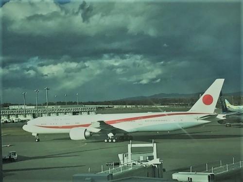 新しい日本国飛行機