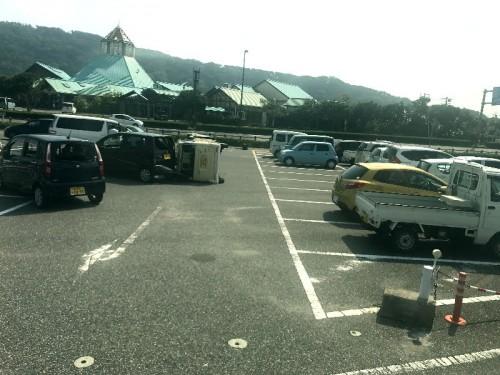 冨浦びわくらぶの駐車場