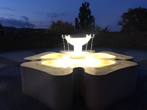 光と噴水の芸術!