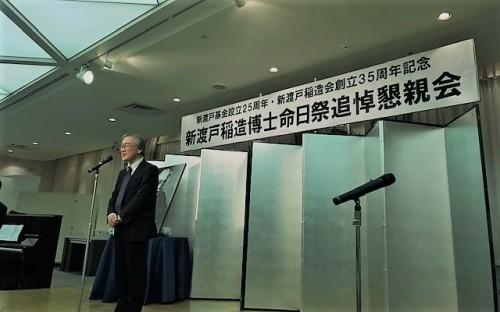 藤井茂理事長