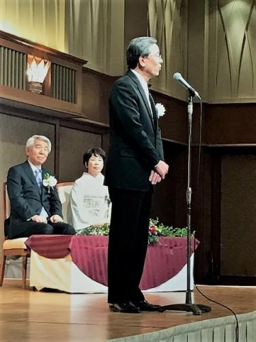 西岡病院の中島茂夫院長:締めのご挨拶