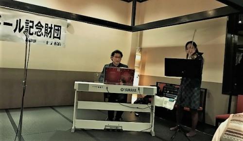 阿久澤政行さんと打保早紀さんのライブ