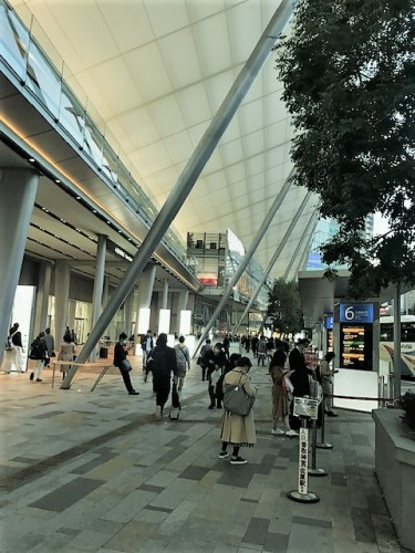 東京駅八重洲バスターミナル