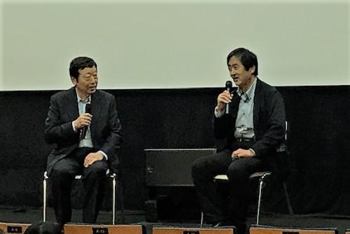 寺脇研さんと永田浩二さんの対談