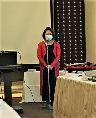 杉田知子さんのトーク