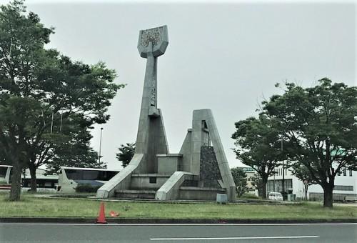 君津駅南口ロータリー