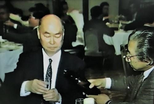 ご出席された志摩理事(左)と江口理事(右)