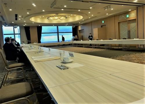 北海道経済同友会幹事会で