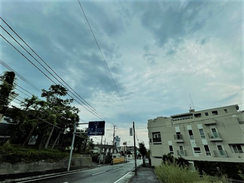 札幌市中央区宮の森の9月早朝!